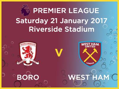 Boro West Ham