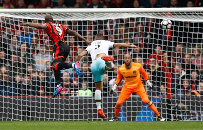 Bournemouth West Ham Action