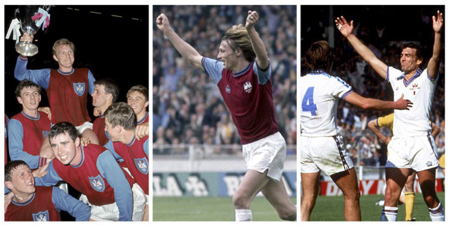 Great Wembley Memories as a West Ham Fan