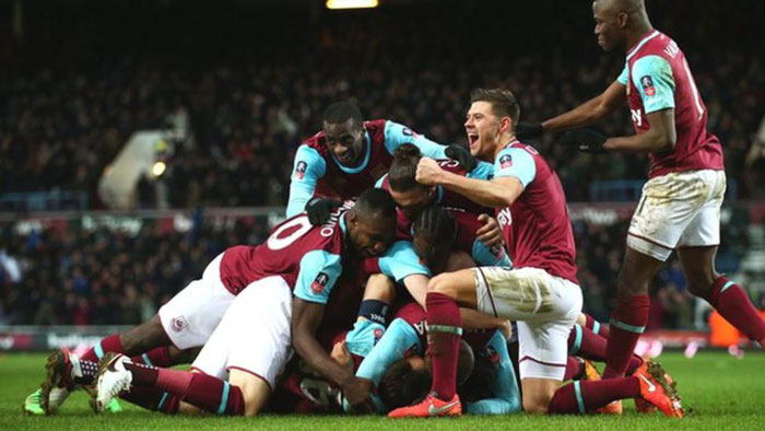 West Ham entertainLiverpool