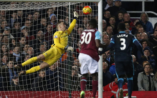 Hart Saves Against West Ham