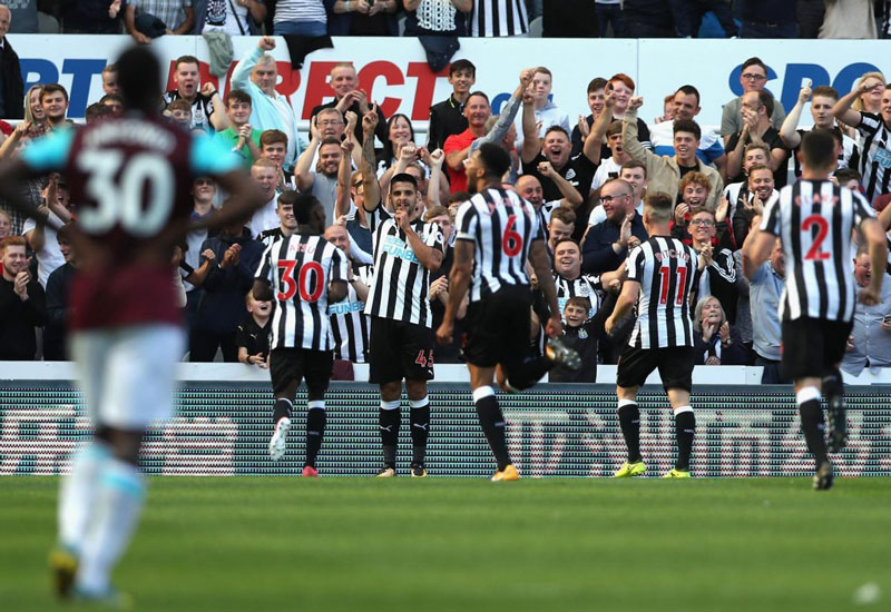 Newcastle West Ham