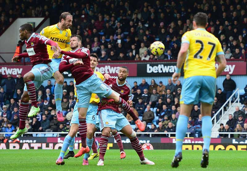 Memories of West Ham games against Crystal Palace in the last fiftyyears