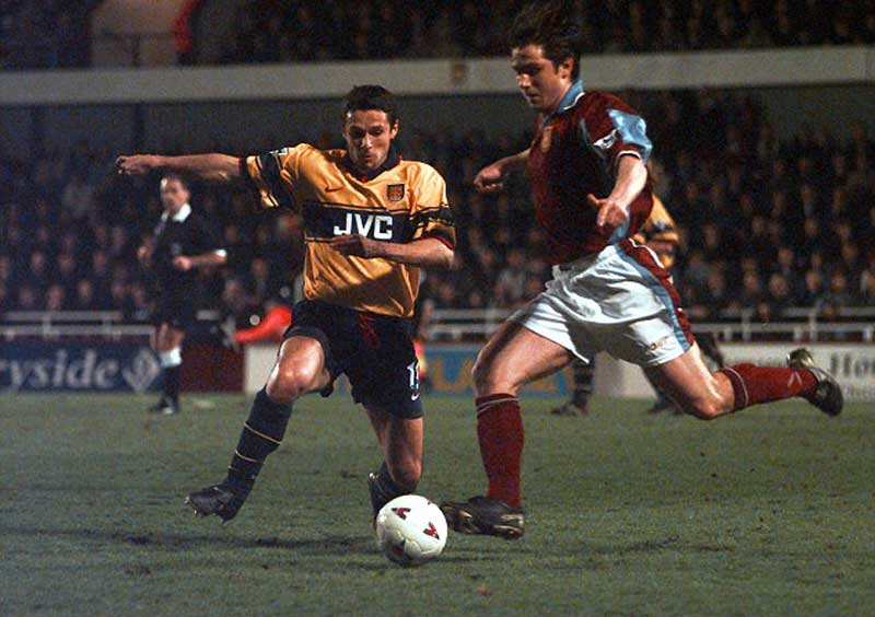 1998 Cup v Arsenal