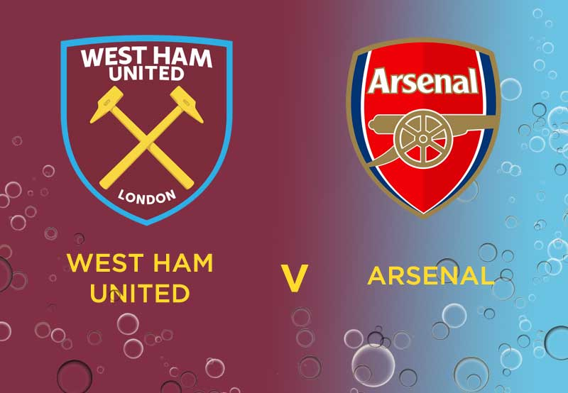 West Ham versus Arsenal