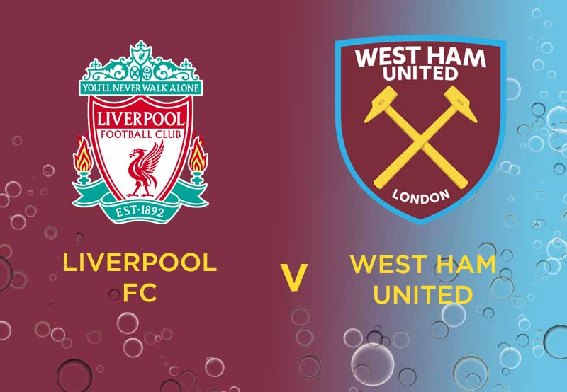 Where is the best place to park the West Ham bus at Anfield?