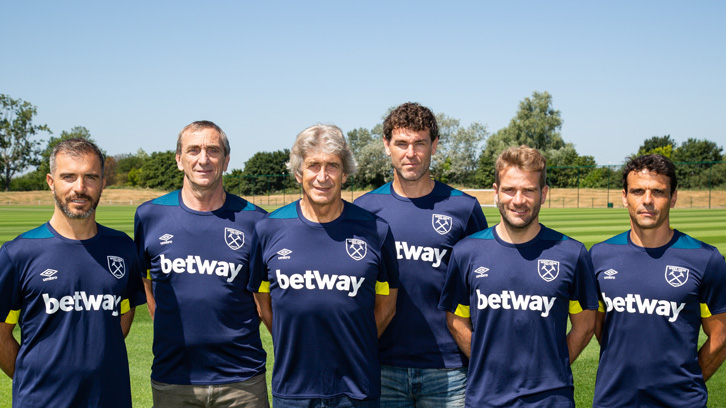 West Ham Backroom Staff