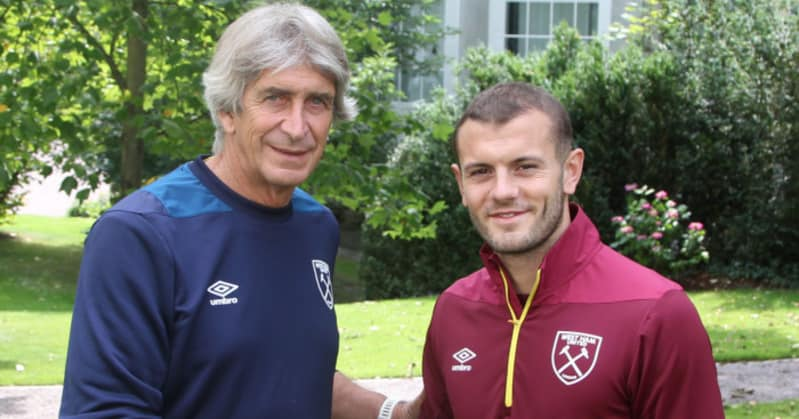 Pellegrini and Wilshere