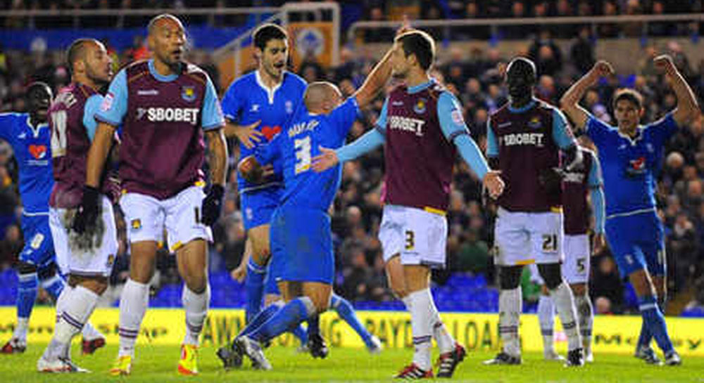 Hammers v Blues Clashes in the FACup