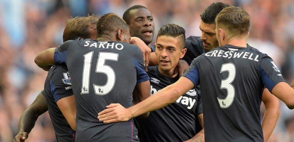 West Ham visit ManchesterCity