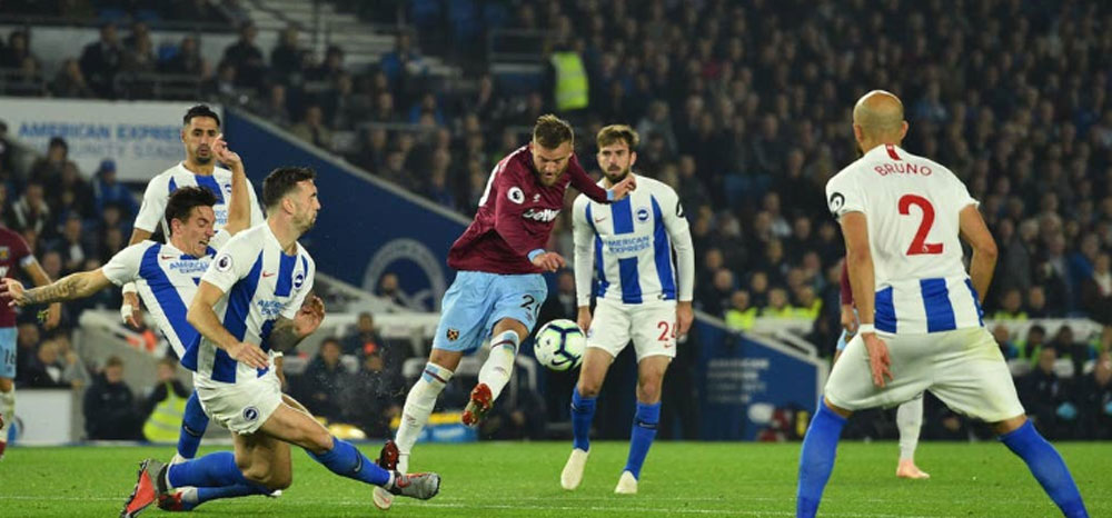 What can West Ham expect when they visit the AMEX to meet our bogey team, the flying Seagulls of Brighton?