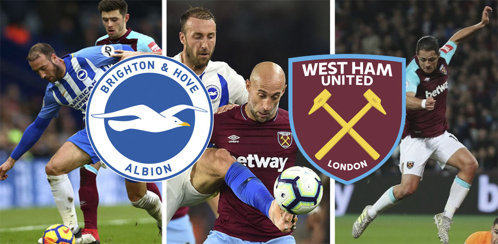 Time For West Ham's Three Amigos To Step Up And Make Brighton Rock?