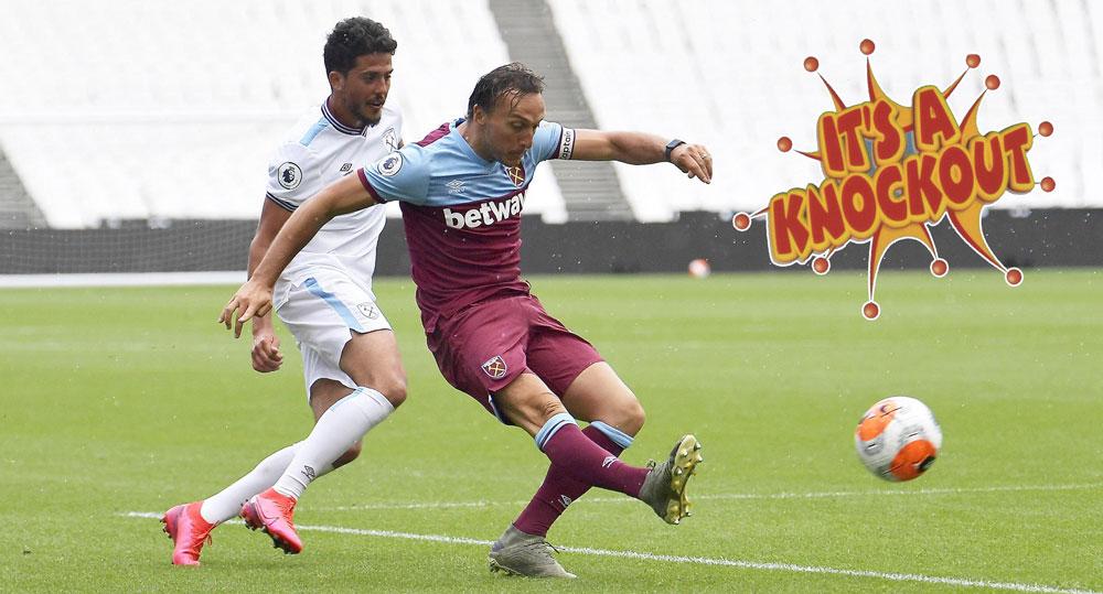 Jeux sans spectateurs: Premier League mini-marathon could be knockout blow for WestHam?