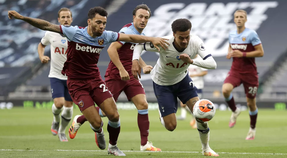 Hammers' Limitations Exposed At Tottenham but we are still outside bottom three! Just!