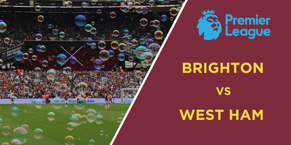 Can The Hammers Stroll Past A Brighton B-Side Beside The Seaside? We'll Have ToSee!